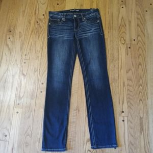 NWT EXPRESS LOW RISE SKINNY JEANS 4 REG